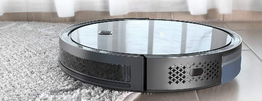 Robotic Vacuum Cleaner with HEPA Filter