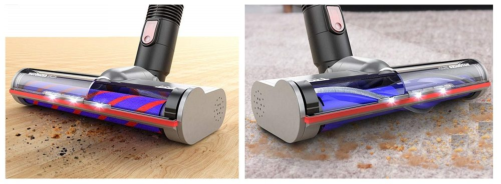 Holife 20Kpa Cordless Vacuum 4 in 1 Powerful Stick Vacuum