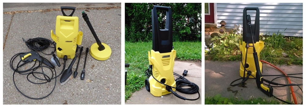 Karcher K2 Plus Electric Pressure Washer, 1600 PSI, 1.25 GPM