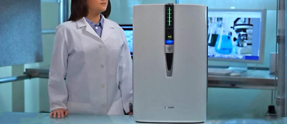 Sharp FPF60UW Plasmacluster Ion True HEPA Filter Air Purifier Review