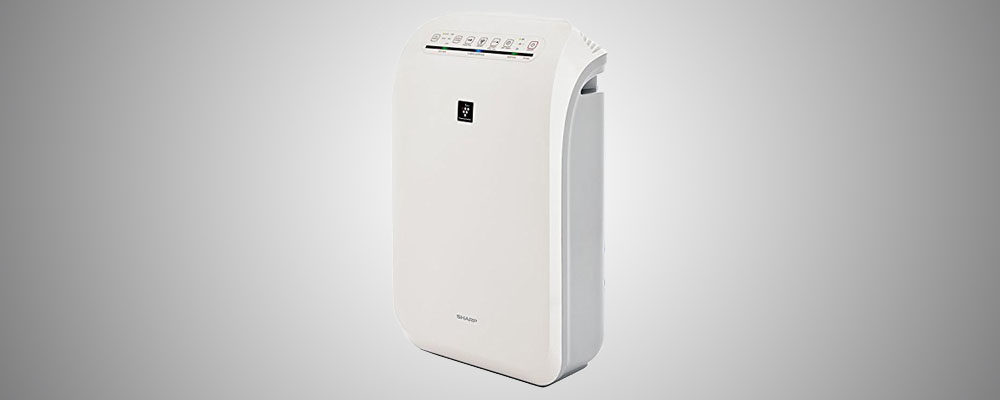 Sharp FPF60UW Plasmacluster Ion True HEPA Filter Air Purifier