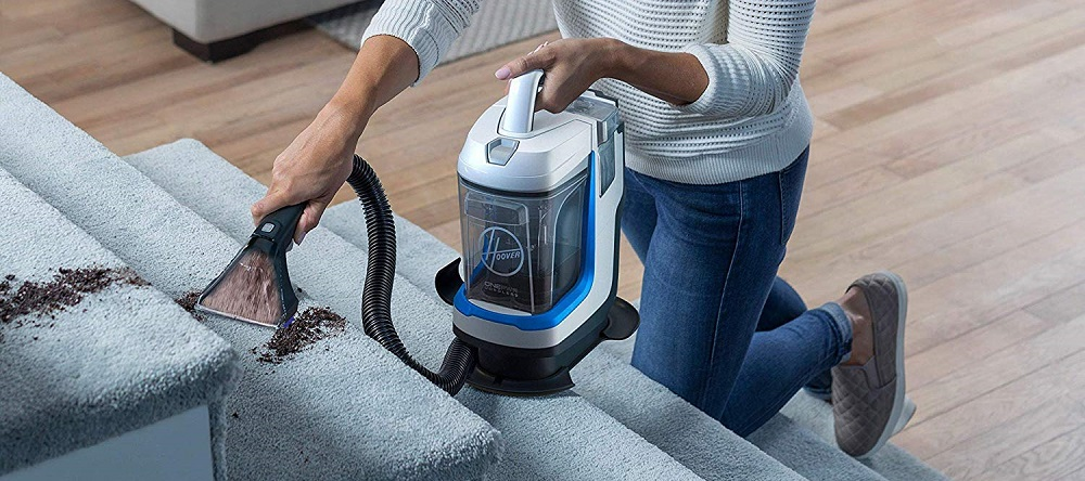 Hoover ONEPWR Spotless GO Cordless Carpet and Upholstery Cleaner