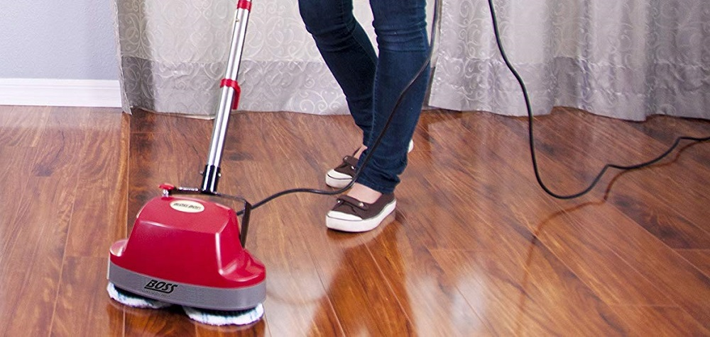 Boss Cleaning Equipment B200752 Scrubber Review