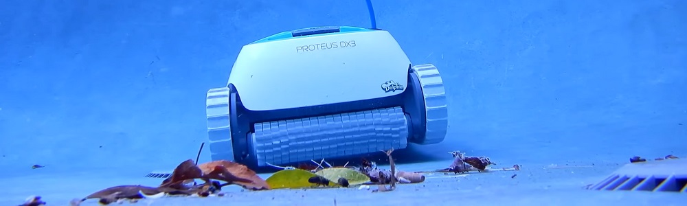 Dolphin Proteus DX3 Robotic Pool Cleaner Review
