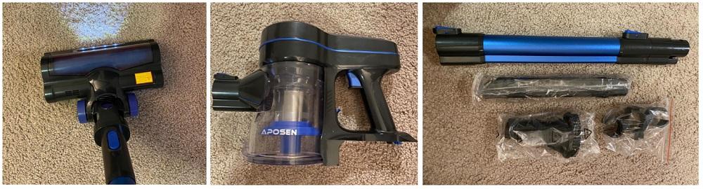 APOSEN Cordless Vacuum Cleaner Review (H250)