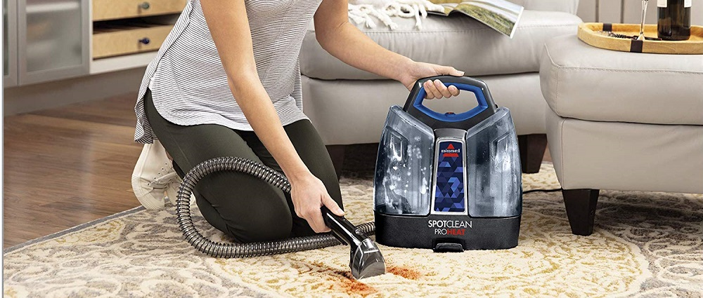 Bissell 2694 SpotClean ProHeat Portable Carpet Cleaner Review