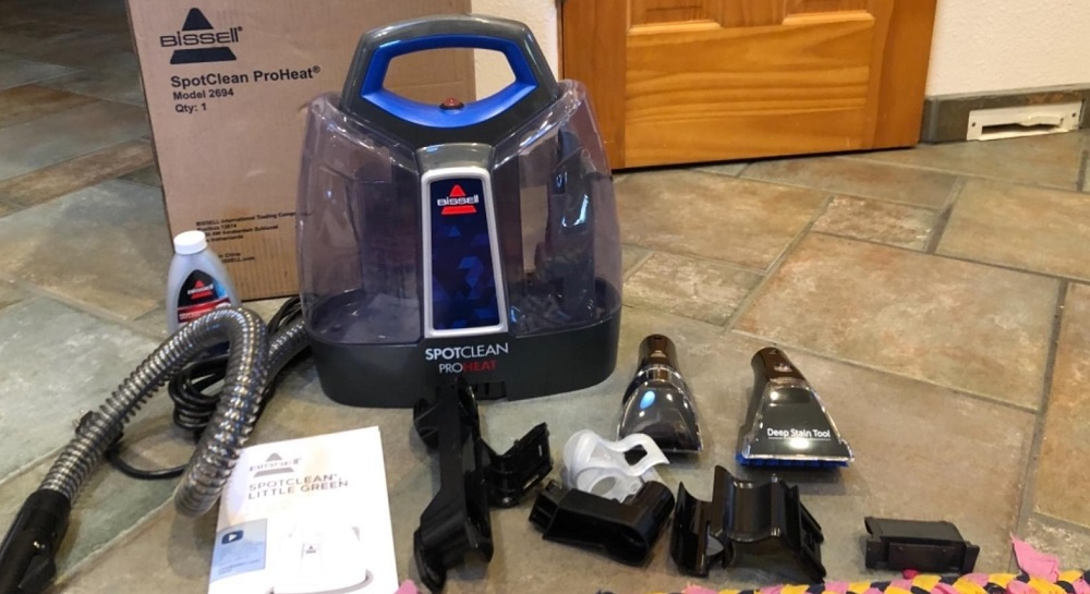 Bissell 2694 SpotClean ProHeat Review