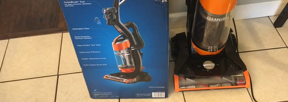 Bissell Cleanview Upright Bagless Vacuum 1831