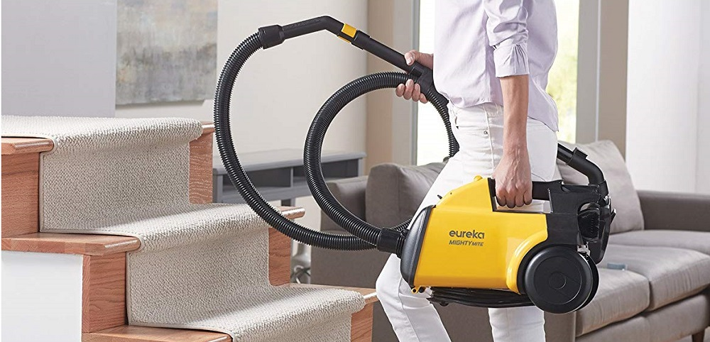 Eureka Mighty Mite Corded Canister Vacuum Review (3670G)