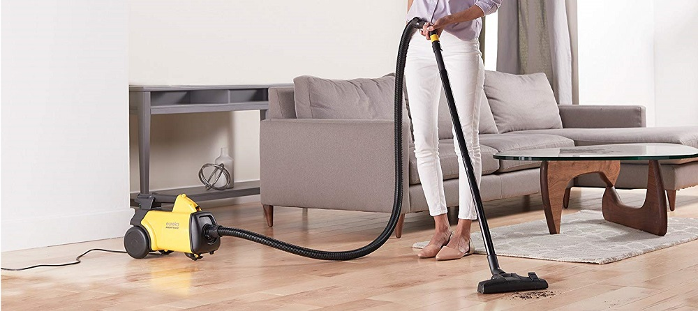 Eureka Mighty Mite Corded Canister Vacuum