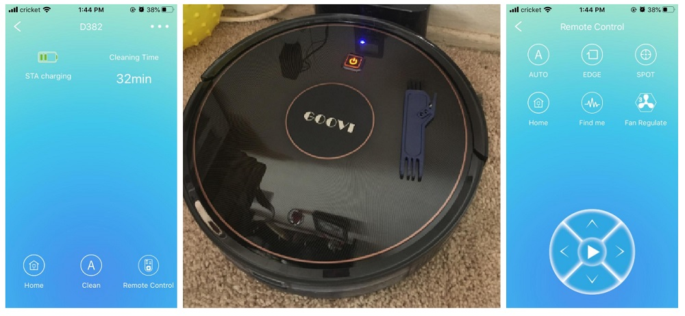 GOOVI D382 Robot Vacuum Review