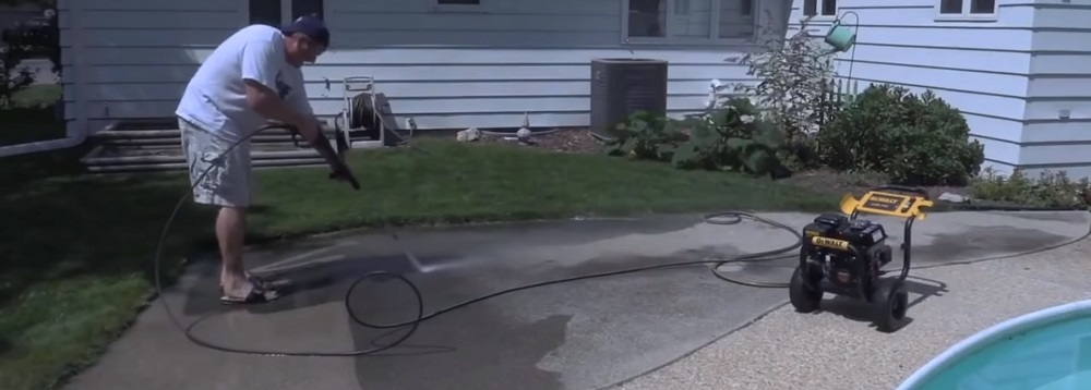 Gas-Powered or Electric Pressure Washer