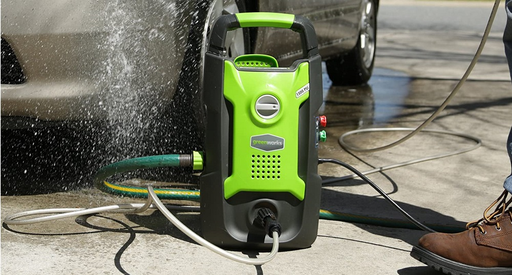 Greenworks 1500 PSI 13 Amp 1.2 GPM Pressure Washer GPW1501 Review