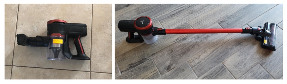 MOOSOO Cordless Vacuum Cleaner Review (Upgraded K17)