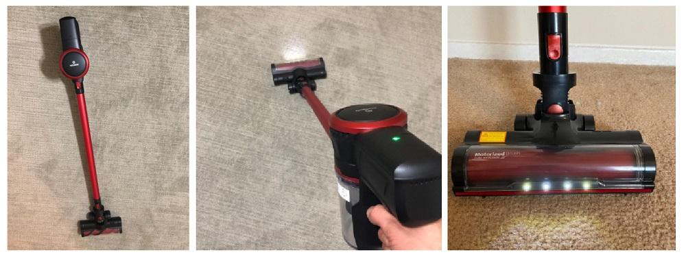 MOOSOO K17 Cordless Vacuum Cleaner Review