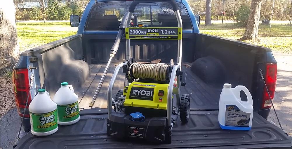 Ryobi RY141900 2,000-PSI 1.2 GPM Electric Pressure Washer