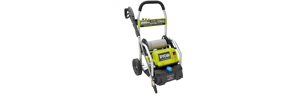 Ryobi RY141900 2,000-PSI 1.2 GPM Electric Pressure Washer Review