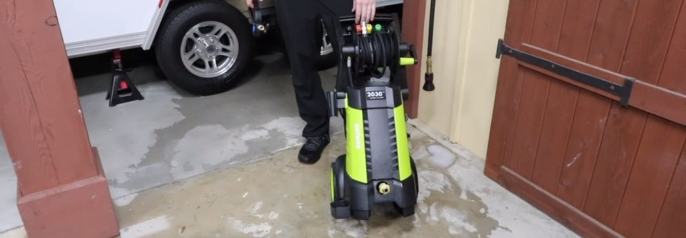 Sun Joe SPX3001 2030 PSI Electric Pressure Washer Review
