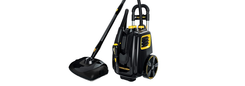 McCulloch MC1385 Deluxe Canister Steam Cleaner