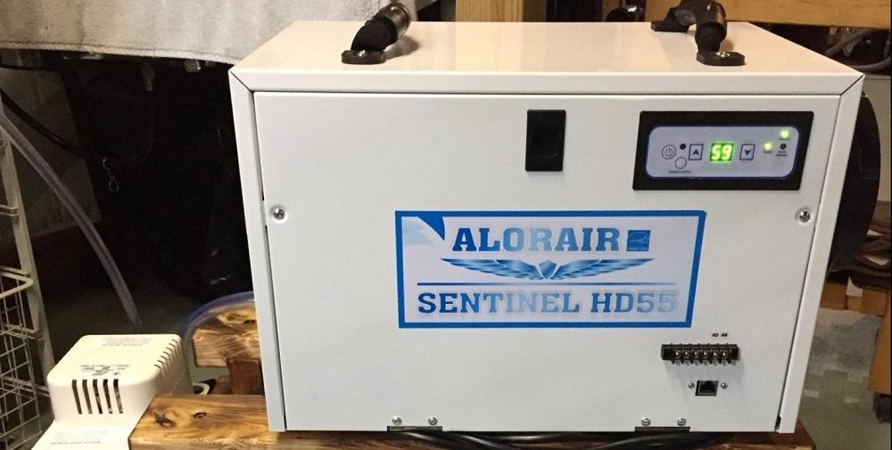 AlorAir Basement/Crawlspace Dehumidifier 198PPD