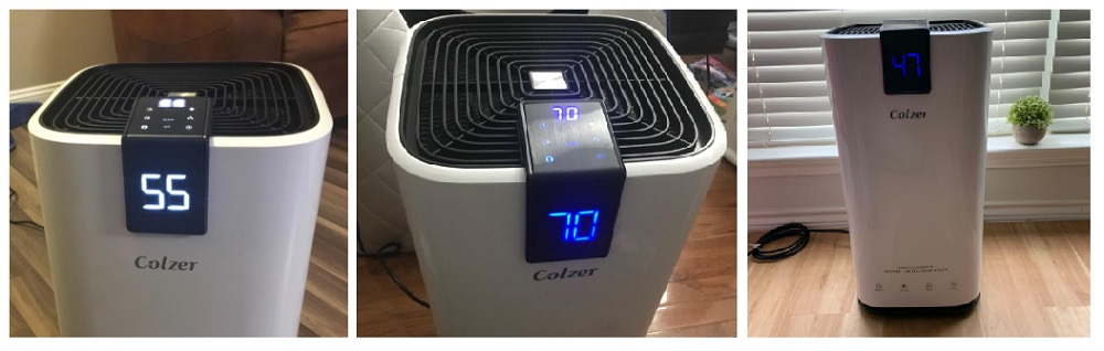 COLZER PD223A 70 Pints Dehumidifier