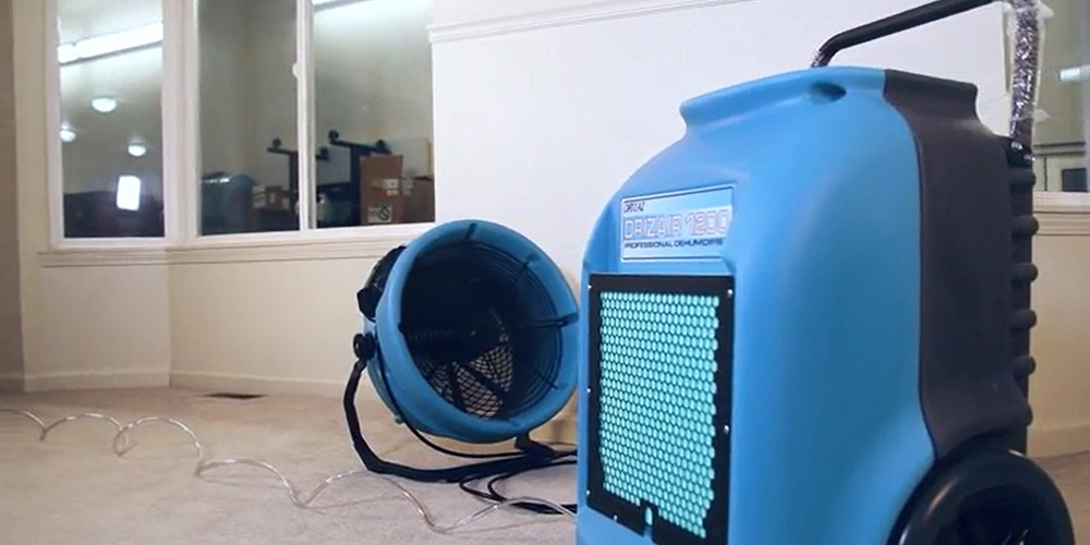 A Commercial Dehumidifier Removes Bad Odors And Smells