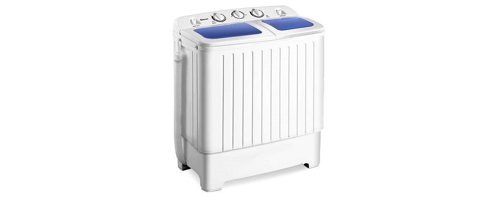 Giantex Portable Mini Compact Twin Tub Washing Machine Review