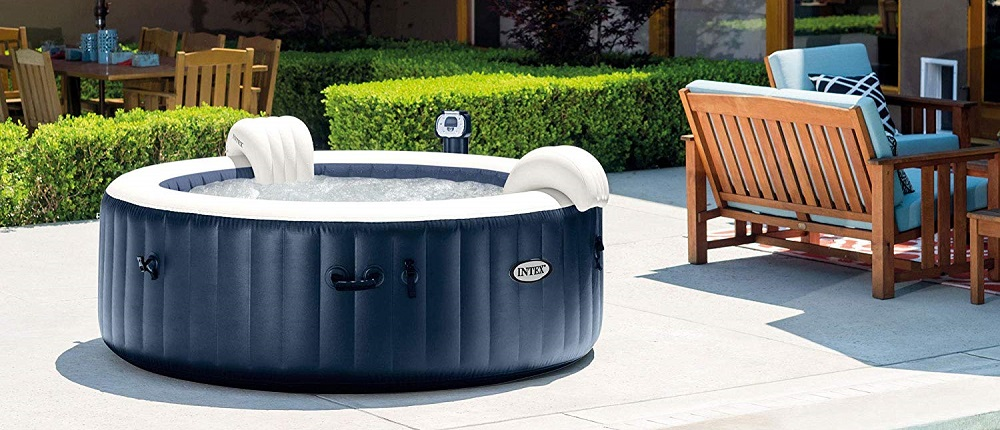 Intex Pure Spa 6-Person Inflatable Portable Heated Bubble Hot Tub | 28409E
