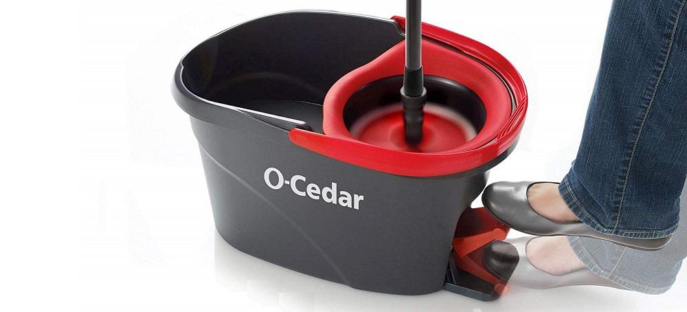 O-Cedar 153185 EasyWring Microfiber Spin Mop