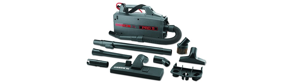 Oreck Commercial BB900DGR Shoulder Vacuum Review