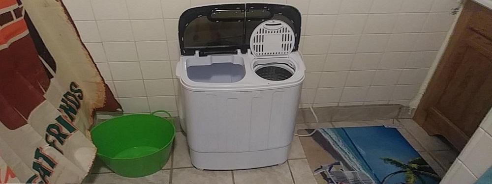 SUPER DEAL Portable Compact Mini Washing Machine