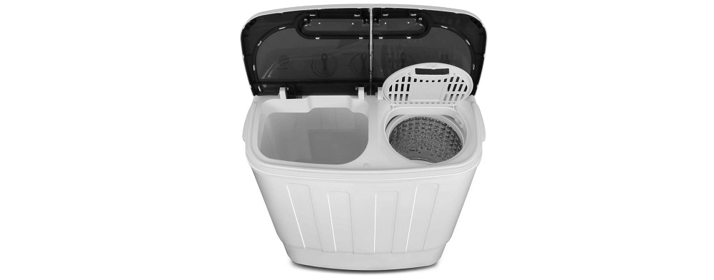 SUPER DEAL Portable Compact Mini Twin Tub Washing Machine Review