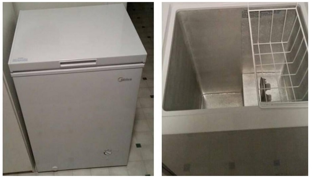 Midea WHS-129C1 Single Door Chest Freezer