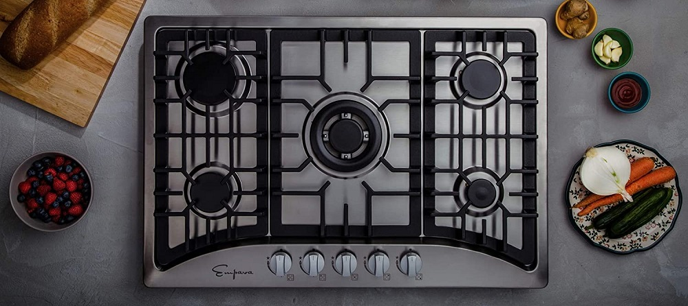 Empava 30 inches 5 Italy Sabaf Burners Gas Stove Cooktop