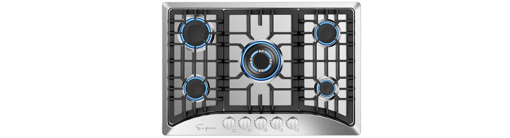Empava 30 inches 5 Italy Sabaf Burners Gas Stove Cooktop Review