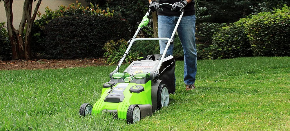 Greenworks 20-Inch 40V Twin Force Cordless Lawn Mower Review