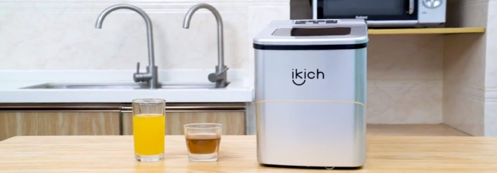 IKICH Portable Ice Maker Machine