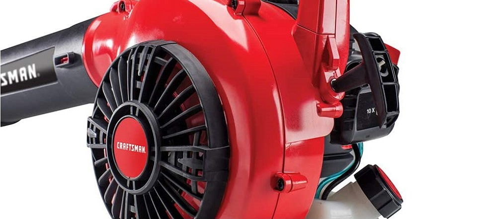 Craftsman B215 25cc 2-Cycle Engine Handheld Gas Powered Leaf Blower Review