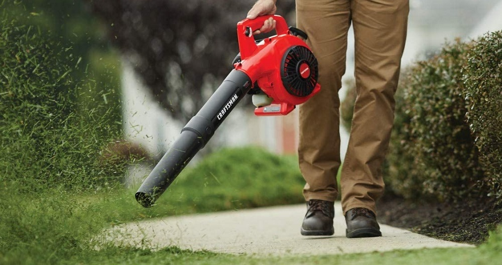 Craftsman B215 25cc 2-Cycle Engine Handheld Gas Powered Leaf Blower