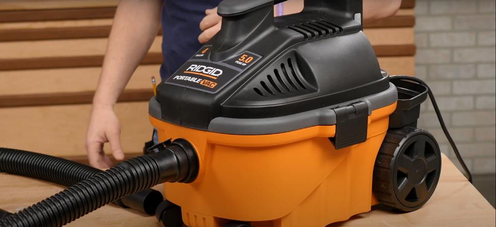 RIDGID 50313 4000RV Portable Wet Dry Vacuum Review