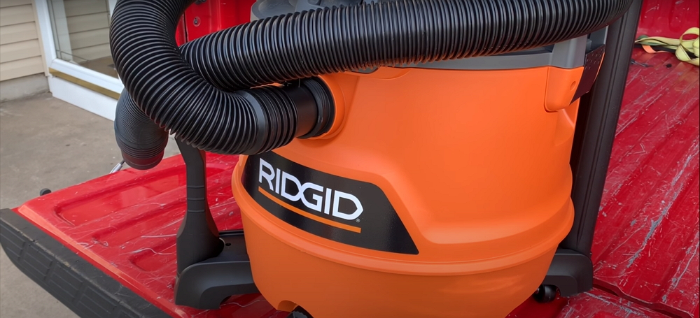 Ridgid 31693 WD1851 16 Gallon 6.5 HP Wet Dry Vacuum Review