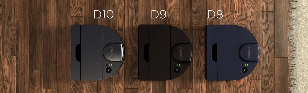 Neato D8 vs. D9 vs. D10 Robotic Vacuums